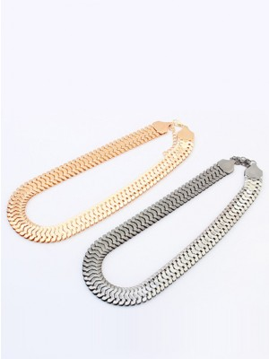Occident Personality Metallic thick chains Short Hot Sale Halsketten