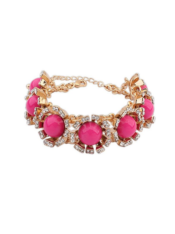 Occident New Street Shooting Collision Color Hot Sale Armbänder