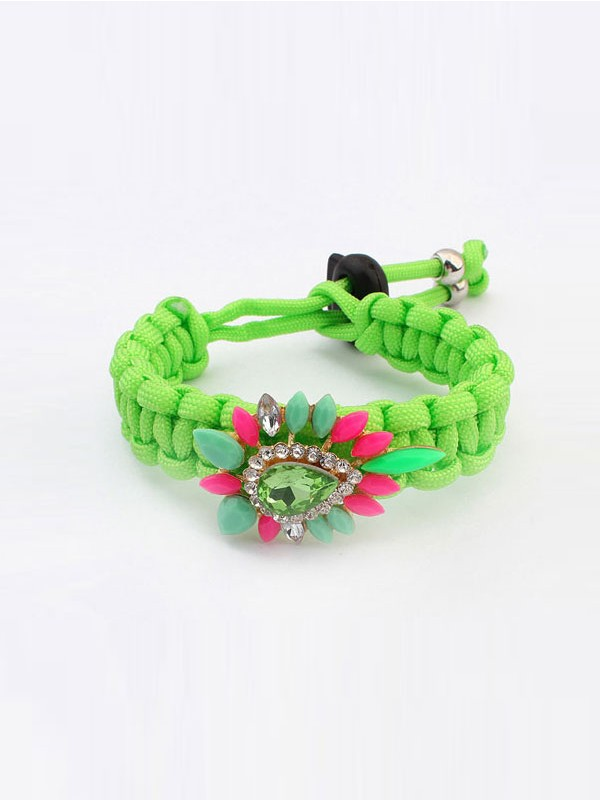 Occident Ethnic Customs Woven Colorful Hot Sale Armbänder